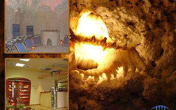 Léčivé účinky moře: zregenerujte se v solné jeskyni! 6 návštěv po 45 minutách se 70% slevou jen za 199 korun!