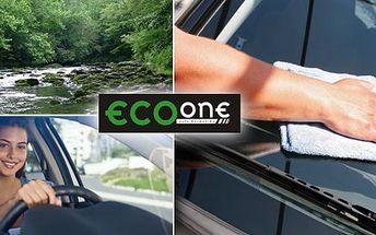 299 Kč za ruční mytí automobilu v EcoOne Liberec. Mytí karoserie, ochrana před UV, voskování, vysávání kabiny, leštění oken, impregnace pneu, kosmetika motoru a další se slevou 71 %.