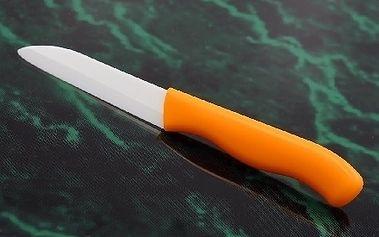Keramický nůž, kuchyňský komfort bez broušení za neuvěřitelnou cenu! Poštovné zdarma!
