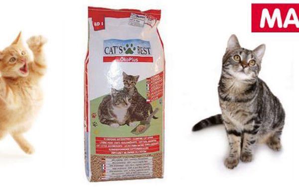 10 Kč za kupon v hodnotě 100 Kč použitelný na nákup kočkolitu Cats Best ÖkoPlus. Prvotřídní absorpční schopnosti, výborně hrudkující, s minimální spotřebou a se slevou 18 %!