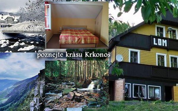 Zažijte neopakovatelnou dovolenou v krásné přírodě Krkonoš až na 6dní pro dvě osoby. Využijte tuto skvělou šanci s až 40% slevou.