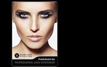 1200 Kč za prodloužení řas v kosmetickém studiu Monika v hodnotě 3000 Kč