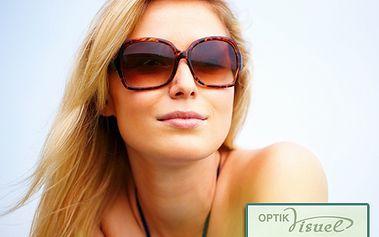 Vyberte si stylové sluneční brýle se slevou až 50 %! Ochraňte své oči díky kuponům za 250 korun, které mají dvojnásobnou hodnotu. Vybírejte brýle světových značek a blýskněte se svým vytříbeným vkusem!