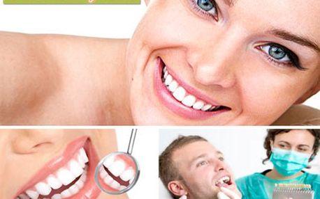 Zdravý úsměv, to je bílý chrup. S modrým světlem může být co by dup! Kosmetické bělení zubů pomocí intenzivního modrého studeného světla se slevou 65 %.