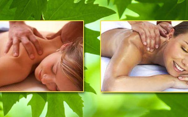 Vyberte si podle vlastní nálady, za jednotnou cenu, příjemných 40 min za 190,-kč Relaxační, nebo Detoxikační masáž! Speciální nabídka pouze pro Vás!
