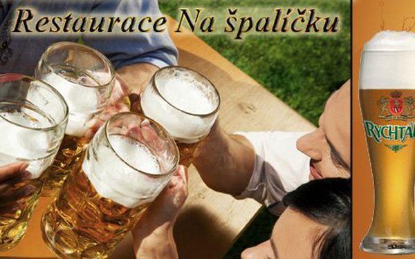 46 Kč za ČTYŘI točené Rychtáře Natur 12°. Exkluzivní ochutnávka pivních speciálů s 50% slevou.