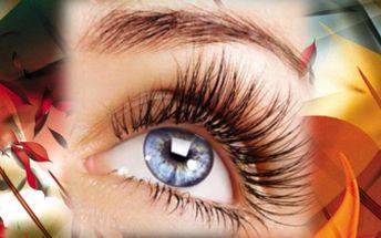 V kosmetickém salonu Lenka v Orlové - Svádějte muže pouhým pohledem se 74% slevou, protože neodolatelný pohled tvoří krásné, dlouhé a husté řasy... Součástí je i kamínek Swarovski v barvě dle Vás!!!