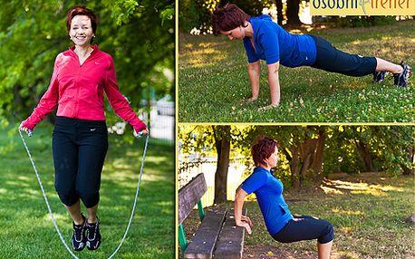 Rozhýbejte a zpevněte své tělo pod vedením zkušeného osobního trenéra fitness! Individuální nebo skupinová lekce, tréninkový plán či sestavení jídelníčku s 50% slevou už od 190 korun!
