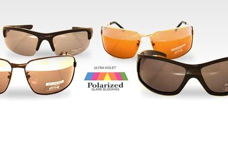 Polarizační brýle za skvělou cenu 199 Kč za kus. Na výběr 4 druhy. Polarizační brýle nejsou stejné jako sluneční brýle! Jsou určeny hlavně pro řidiče, rybáře, jachtaře a všechny ty, kteří se pohybují v prostředí odražených světelných paprsků.