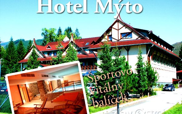 Sportovní vitální balíček v Hotelu Mýto*** pro 1 osobu na 2 noci nyní jen za 1265 CZK!