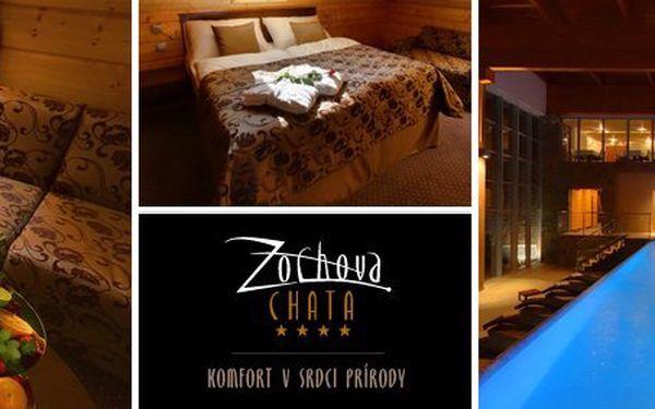 4799 Kč za třídenní wellness pobyt pro DVA v Hotelu Zochova chata**** na Slovensku. Sauna, bazén, vířivka neomezeně. Zažijte dotek luxusu v kraji vína a přírodě Malých Karpat. Sleva 54 %.