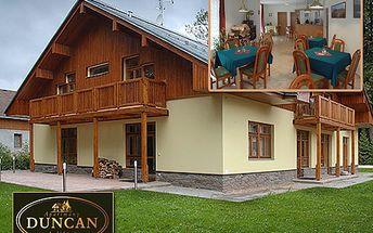 Pojeďte na dvě noci do penzionu Duncan a poznejte krásy Janských Lázní! Pojeďte si odpočinout do Krkonoš díky naší 42% slevě na ubytování v horském penzionu pro dvě osoby!