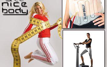 Efektivní posilovna a bez námahy za pouhých 149 Kč! Získejte 3 x 10 minut cvičení na vibrační plošině Wellness Pro-Form Plate a 1 lekci s pásem Slim belly! Zlepšete si fyzičku a postavu s 67 % slevou!