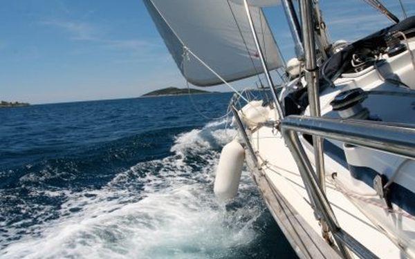 Týden na mořské jachtě s kapitánským kurzem