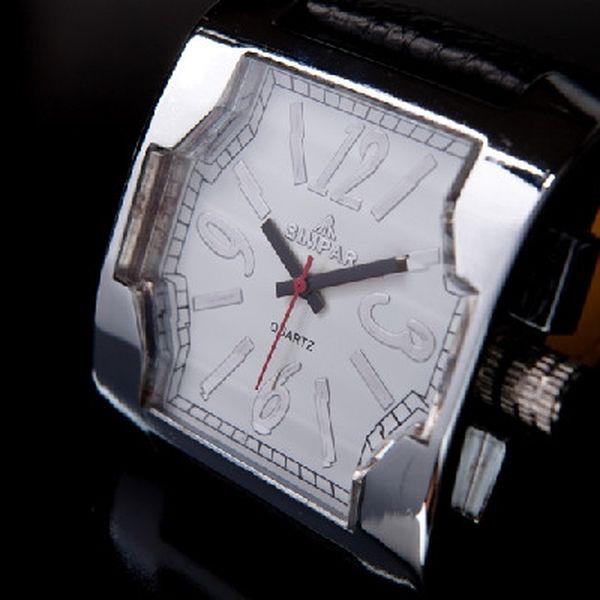 Módní dámské hodinky SIMPAR za neopakovatelnou cenu 99 Kč! Elegantní doplněk z kvalitních materiálů!