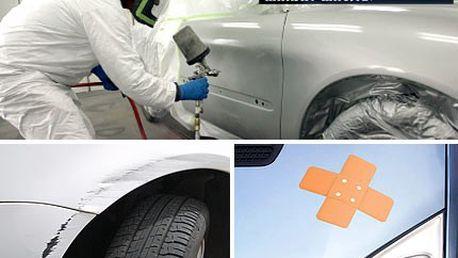 Chce to zbrusu nový lak? Skryjte oděrky, škrábance a jiné ťukance. Lakování osobních vozidel se slevou 54 %.