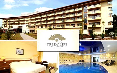 Spa resort Tree of Life vrací životní drive! Tři dny regenerace pro jednu osobu v léčebném komplexu Lázní Bělohrad se slevou 40 %.