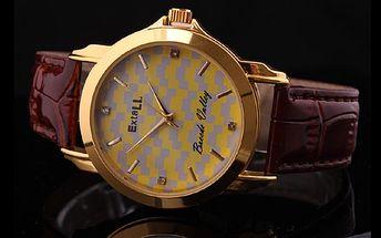 Jedinečná cena 190 Kč za dámské hodinky ExtaLL v hodnotě Kč 990,-! Ozdobte si ruku skvělým doplňkem!