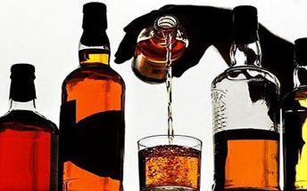 35 Kč za panáka whisky! Výběr z mnoha druhů... se slevou 62% ! Přijďte se s kamarády pobavit k dobrému pití a navštivte pohodový klub HZK Chicago 1930