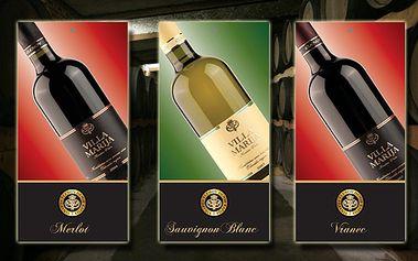 Romantický večer jedině s láhví dobrého vína! Vyberte si ze tří druhů kvalitních makedonských vín s ovocným aroma. Láhev vína s 38% slevou jen za 149 korun!