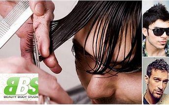 I pánové mohou mít dokonalý účes s jedinečnou 74% slevou! Pánský střih za úžasných 139 kč!! Obsahuje stříhání, šamponovou lázeň a indickou masáž vlasové pokožky!
