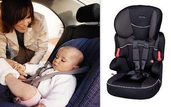 Moderní designové dětské autosedačky splňující ta nejpřísnější kritéria bezpečnosti a komfortu. Díky výškové nastavitelnosti nemusíte sedačku měnit s růstem dítěte. Silné polstrování ocení její pasažéři na dlouhých cestách!