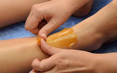 Jen 190 Kč namísto 400 Kč za depilaci nohou cukrovou pastou (1 kupon depilace lýtek či stehen, 2 kupony celé nohy). Super sleva 53 %!