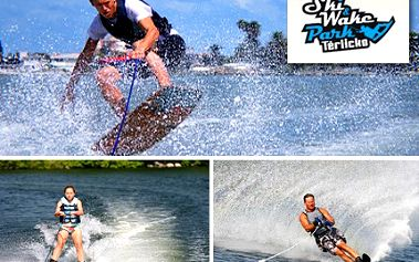 Wakeboarding či vodní lyže? Ukaž kolik je v tobě kuráže! Permanentka na 30 jízd ve Ski&Wakepark Těrlicko s 50% slevou.