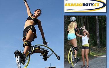 349 Kč za adrenalin v sedmimílových botách 7leagueBoot PRO DVA. Hodinový skákací trénink s instruktorem se slevou 50 %!