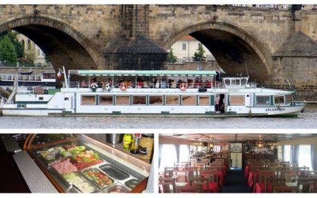 Vyzkoušejte tříhodinovou plavbu na výletní lodi Atlantida s neomezenou konzumací jídla a živou hudbou za neskutečnou cenu 475 Kč! Změňte zaběhnutou rutinu a udělejte si výjimečnou neděli na Vltavě! Dopřejte si romantickou projížďku s večeří a hudbou!