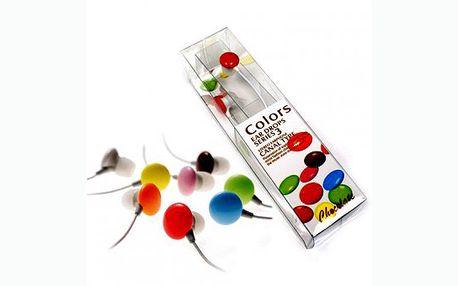 Toužíte být toto léto originální? Kupte si barevná sluchátka podobající se lentilkám. Možnost vyzvednout osobně v Praze nebo zaslat poštou.