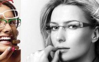 Sleva 50 % na jakékoliv brýle v optice OPTIK EDEN. Široký výběr všech nejznámějších značek !!! Značky Esprit, Zeiss, Lacoste, Puma, Davidoff, Elle, Pepe Jeans, Jaguar a další. Špičkový servis a poradenství !!