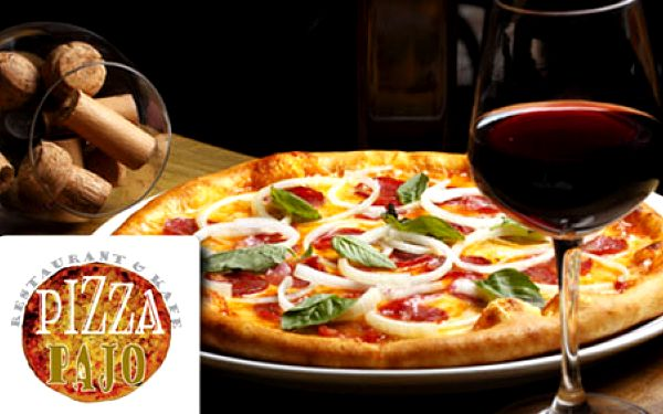 V príjemnom prostredí reštaurácie Pajo si pochutnajte na pizze vďaka poukazu v hodnote 4€ teraz len za 2 €! Zľava na poukaz 50 %!