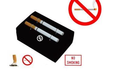 Již žádné nedopalky, potřeba popelníku či oklepávání popela, žádné kupování sirek a zapalovačů, už nikdy více škodlivý kouř! Inhalační e-cigareta - model DOUBLE (2 ks) jen za 560 Kč včetně poštovného! Předejděte RAKOVINĚ plic dříve než bude pozdě!