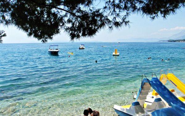 Týdenní pobyt v Chorvatsku od 31. 8. do 7. 9. 2011. Zveme vás do penzionu Slaven na kraji města Podgora, 150m od pláže. Snídaně, přeprava a ubytování za 4224 Kč!