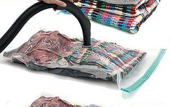 Pouze 249,- Kč 5 kusů vakuových MAXI pytlů Vacu Bags k uschování sezónního šatstva! Znáte z TV! Sleva 76%!