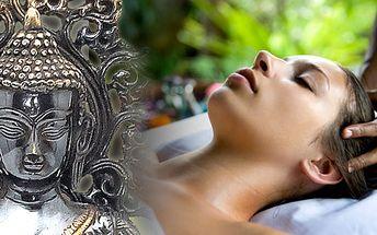 INDICKÁ antistresova masáž hlavy, šíje, nadloktí a obličeje!! Nechte se unést do zákoutí orientální relaxace!!