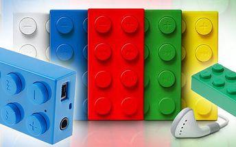 Cool MP3 přehrávač ve stylu LEGO!!! Budťe styloví a pořiďte si tuto novinku - nabíječka, paměťéová karta a jednoduché ovládání.