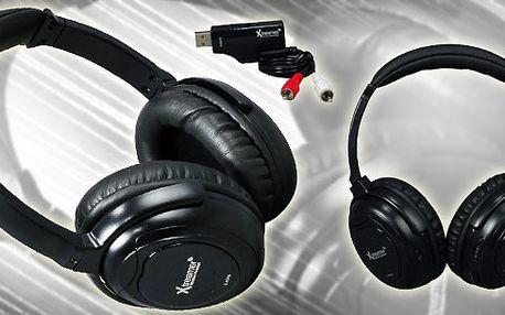 Bezdrátová sluchátka Xtreamer! Není nic lepšího nežli nemuset pořád dávat pozor na kabel od sluchátek nebo ho stále schovávat pod triko, košili či blůzu! Bezdrátová sluchátka!