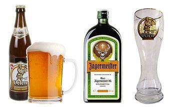 Zajdi s kámošem na pivko a panáka a odnes si domů originální sklenici Velen!