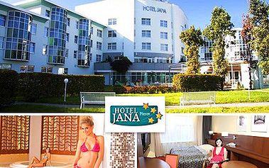 Wellness víkend pro dva a starosti hodíte za hlavu raz dva. Komfortní hotel Jana ****, kde můžete také aktivně odpočívat při bowlingu či billiardu se slevou 67 %.