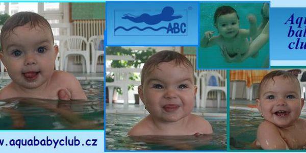 Chcete, aby se Vaše dítě cítilo ve vodě jako doma? Dopřejte mu 20 lekcí plavání. Je určeno pro děti od 6 měsíců do 6 let.
