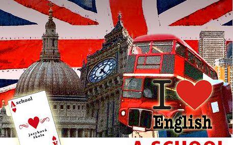 Pomaturitní studium Anglického jazyka, ušetříte 6250 Kč