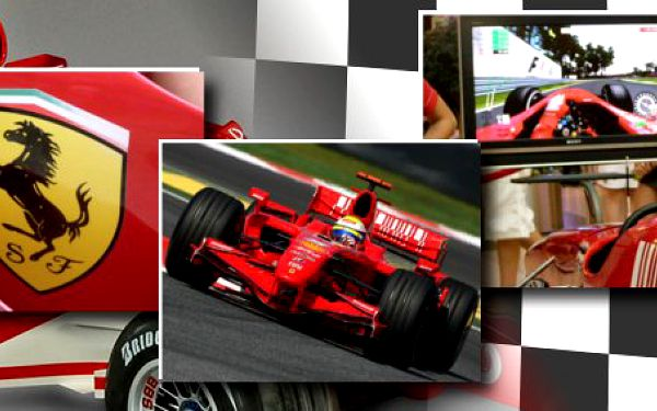 Ochutnejte atmosféru závodů na trenažéru F1 a pocity pilota Ferrari se slevou 52%