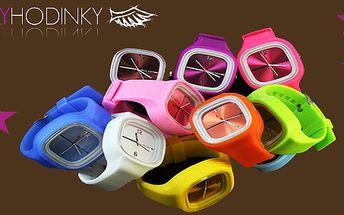 Jelly silikonové hodinky s 50% slevou! Analogové hodinky, které mají elegantní a zároveň sportovní vzhled!