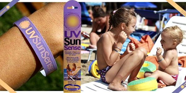 169 Kč za SEDM náramků UVSunSense™. Náramek, který vás upozorní, kdy se máte namazat. Chraňte svou kůži před sluncem s 52% slevou!