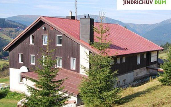 Nejlevnější ubytování s polopenzí v Krkonoších ještě zlevněno! Ubytování pro 2 osoby na 3 dny/2 noci s polopenzí a hodinou saunování za pouhých 1 099 Kč! Příjemné domácí prostředí s pravou krkonošskou atmosférou se slevou 42%!