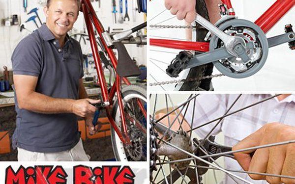 Dopřejte vašemu bicyklu pořádnou letní dovolenou a ostatní cyklisté vás už nikdy nedoženou. Promazání, seřízení a utáhnutí všech šroubků. Prostě kompletní servis vašeho kola se slevou 50 %.