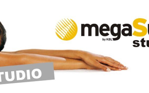 390 Kč za permanentku do solárního studia MegaSun v hodnotě 1000 Kč