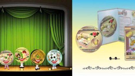 222 Kč za hodiny skvělé zábavy pro vás a vaše děti v podobě DVD knih v hodnotě 443 Kč